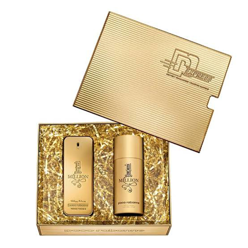 PACO rabbane One million edt 100 ml & One Million Deodorant 150 ml resmi